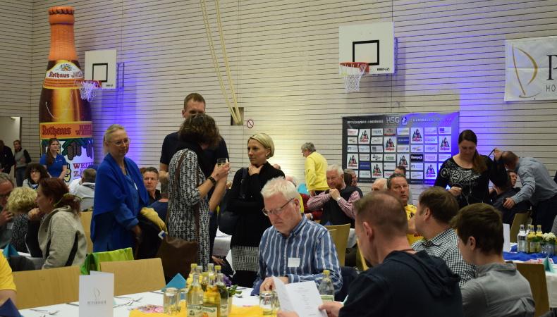 HSG Konstanz Superball 2019 - Gäste eingetroffen.