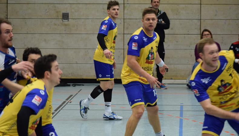 HSG Konstanz Superball 2019 - Abwehr hält dem Druck vom TSB Heilbronn-Horkheim stand.