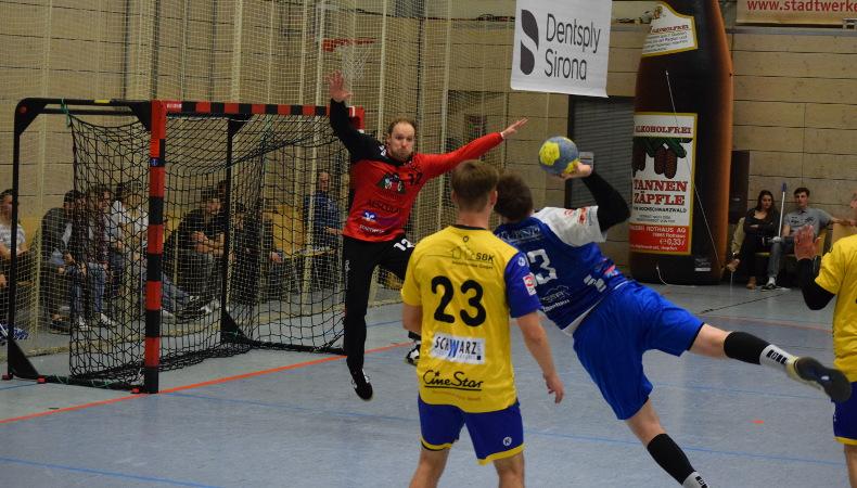 HSG Konstanz Superball 2019 - Maximilian Wolf - toller Torhüter.